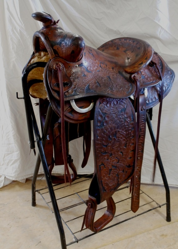 restored buck-stiener saddle